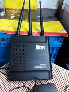 🚚 黑極光無線寬頻線由器 功能正常