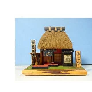 Vintage Japanese Miniature Sushi Restaurant Retired circa late 1900s Unused