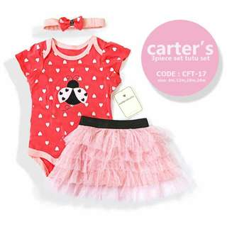 Carter's BABY GIRL 3PCS TUTU