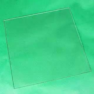 380x380x3mm Borosilicate Glass Sheet Panel For 3D Printer Heated Bed