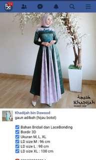 Khadijah gaun