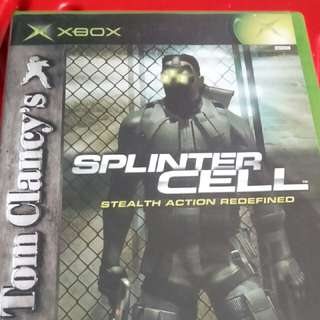 xbox splinter cell steal action redefined(ntsc)
