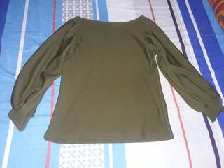 Womens top( 2 for 250) used once.