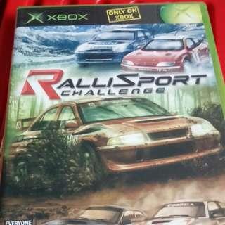xbox rallisport challenge NTSC