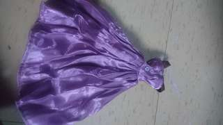 Lavender evening Doll dress