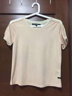 Kamiseta cream blouse