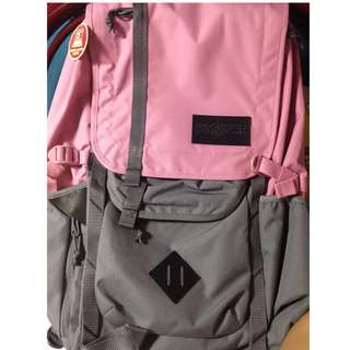 Jansport Pink Hatchet Bag