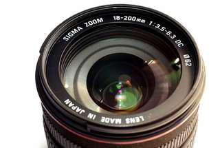Sigma zoom 18-200mm