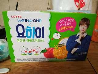 Lotte Yohi X Wanna One Kang Daniel