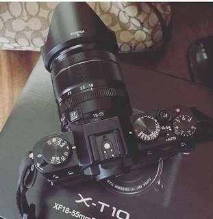 Fuji xt10 camera