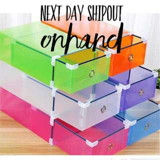 7 pcs shoe box organizer