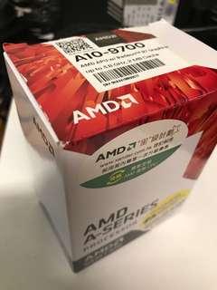 AMD A10-9700 CPU 新買一日連風扇連盒