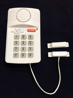 Home security alarm REPRICED!