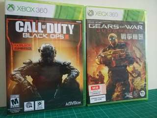 [NEW BUNDLE] Xbox 360 Game CALL OF DUTY 3 & GEAR OF WAR