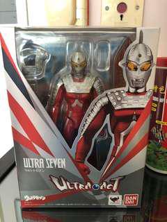 (二手)Ultra Act 咸蛋超人 Ultraman Seven 七星俠