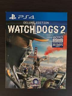 Watchdogs 2 Deluxe Edition PS4 Game