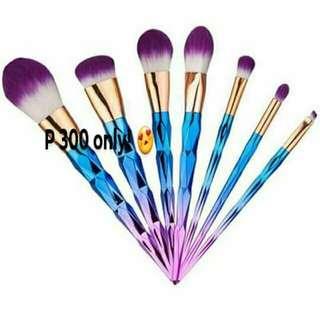 7 pcs Unicorn Brush Set