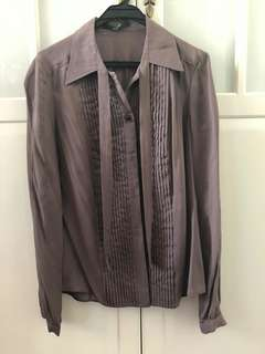 Gucci silk blouse, size 42, new
