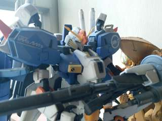 MG Exs S Gundam 完成品