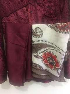 Preloved square hijab segiempat dan pashmina / syal