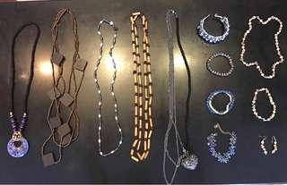 BUNDLE Various necklaces, bracelets, earring