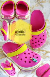 AUTHENTIC CROCS PRELOVED KID'S Size J3