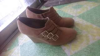 Charles and Keith ankle boots
