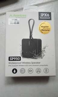 Avantree wireless speaker...waterproof