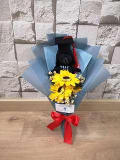 Graduation bouquet star wars darth vader