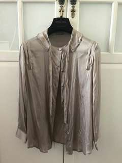 BV silk blouse, size 40, new