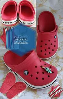 AUTHENTIC CROCS PRELOVED KID'S SIZE J1