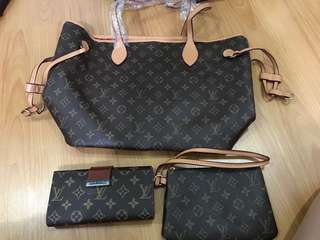 Louis Vuitton 3 in 1 Bundle AAA