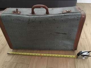 Vintage luggage suitcase briefcase from London