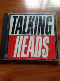 Talking Heads CD (Made In Japan)