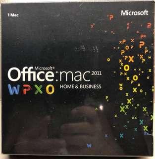 Microsoft Office MAC Home & Office 2011