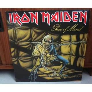 Iron Maiden Piece Of Mind Vinyl LP Record Japan Pressing