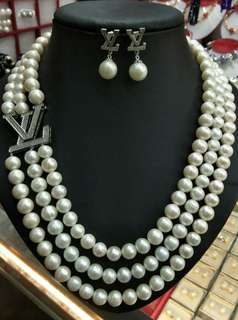 Freshwater Pearl (Necklace & Earring) SET