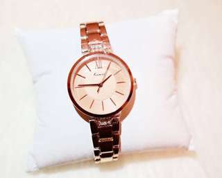 Women rose gold watch