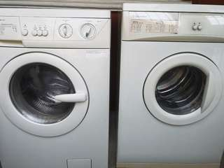 Repriced Electrolux washing machine and dryer