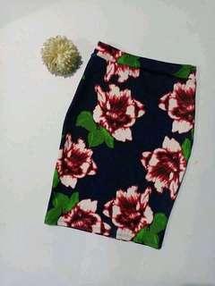Office skirt, below knee