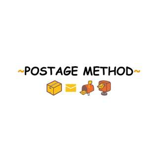 POSTAGE METHOD