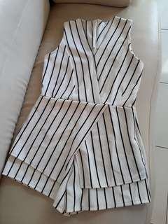 Kimono Stripe jumpsuit