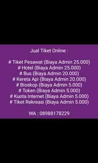 Jual tiket online