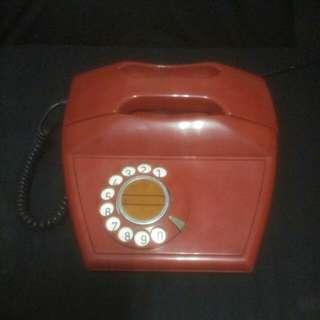 🚚 1976年義大利撥盤式電话