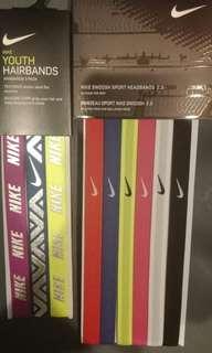 Nike hairbands per 1 pcs