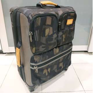 Tumi Alpha Bravo Kirtland International Expandable Carry-On - 222460 - GREY/CAMO 38L