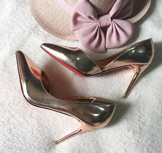 Rose Gold Stilettos
