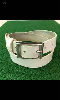 Clearance! Banana Republic Leather Belt White