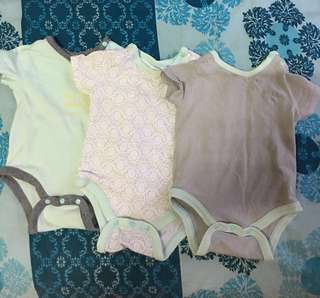 Baby romper set baby Poney 3 piece set rompers bodysuit