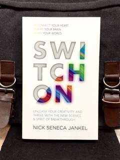 # Highly Recommended《Bran-New + Reconnect Your Heart, Rewire Your Brain, Remade Your World》Nick Seneca Jankel - SWITCH ON : Unleash Your Creativity and Thrive with the New Science & Spirit of Breakthrough